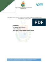 Implementación de Servicio de Oncología Clínica y Quimioterapia Ambulatoria en Hospitales de 2º y 3º Nivel