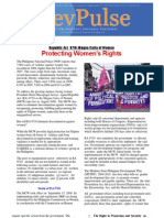 Protecting Women's Rights