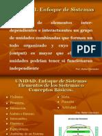 UNIDAD II.Enfoque de Sistemas