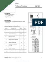 2SD1390 - Shenzhen SPTECH Microelectronics Co Ltd datasheet