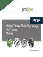 Modulo de Capacitacion - Medium Voltage (MV) & High Voltage (HV)