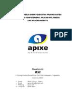 Proposal kerjasama Apixe