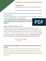 CAPITULO 8 GASTO AGREGADO Y PRODUCCIÓN DE EQUILIBRIO