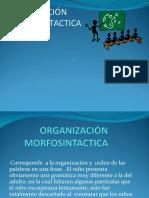 FUNCION  MORFOSINTACTICA