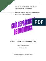 GUIA PRACTICAS BIOQUIMICA ENFERMERIA UNT 2010