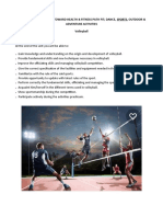 PE 21 volleyball