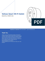 Etekcity Smart Wifi Outlet - User manual