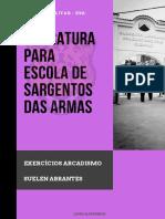 EXERCÍCIOS ARCADISMO  (1)