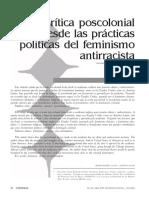 CURIEL Critica poscolonial politicas feminismo antirracista