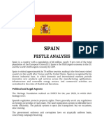 SPAIN PESTLE ANALYSIS