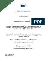 Guía para los solicitantes de subvenciones ES ABIERTA STANDAR JS