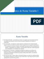 renta variable 1