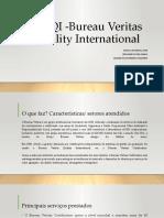 BVQI -Bureau Veritas Quality International