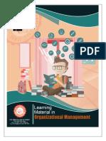 organization and management grade 11