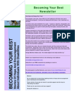 Becoming Your Best Newsletter - January 2011