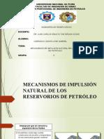 MECANISMOS DE IMPULSIÓN NATURAL DE LOS RESERVORIOS