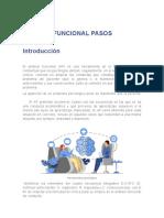 ANALISIS FUNCIONAL PASOS