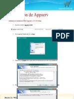 Manual de Instalacion de Appserv