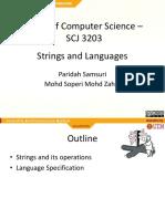Stings-Languages