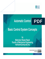 Basic Control System Concepts