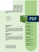 Template 3 - Resume CV by PowerPoint Crafts