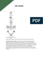 Estructuras De Lewis Enlace Químico Enlace Covalente