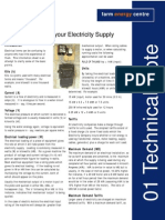 Electrical Terms - Your Electricity Supply