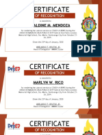 certificate layout