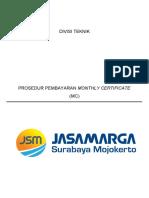 Prosedur Pembayaran Monthly Certificate