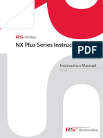 LX Plus Instruction Manual