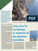 0041 - Cova d'es Vi, en Eivissa, el misterio de las pinturas invisibles
