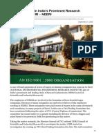 inventiva.co.in-Financial Scam in Indias Prominent Research Organization CSIR  NEERI.pdf