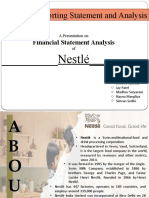 Financial Statement Analysis_Group 3