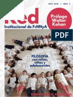 REVISTA  RED de FILOSOFÍA CON NIÑ@S Y ADOLESCENTES - 2019