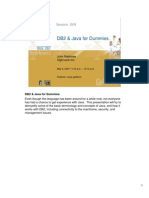 DB2 & Java for Dummies - IDUG2007