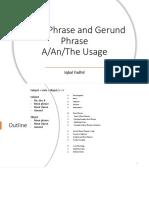 Noun Phrase and Gerund Phrase - A,An,The Usage.pdf