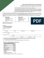 Thieu nang - Module III - Package - Financial Statement Sample