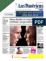 DIARIO LAS AMÉRICAS Edición semanal del 9 al 15 de octubre de 2020