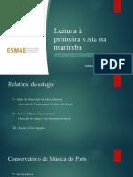 Masters degree presentation