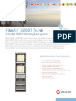 Ceragon - FibeAir 3200T - Brochure