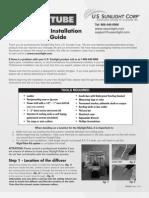 Skylight_Tube_Installation_Instructions