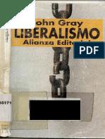 Gray, John N. - Liberalismo (1986)- SELECCIÓN