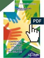 Revista_No_1_Dic_2016 COMPRENDER LA ESCUELA LASALIANA