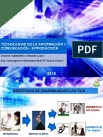 Introducción a las Tecnologías de la Información y Comunicación