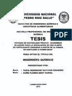 Senmache et al. 2014. Estudio de factibilidad técnico-económico de diseño para la instalación de una planta de fertilizante orgánico a partir de la vinaza en destilería D'Cobre-ERSA. Perú..pdf
