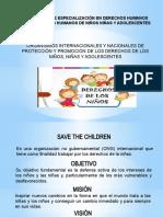 ORGANISMOS INTERNACIONALES Y NACIONALES DE PROTECCIÓN Y PROMOCIÓN DE LOS DERECHOS DE LOS NIÑOS, NIÑAS Y ADOLESCENTES