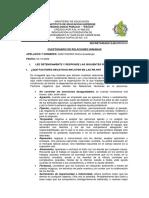 CUESTIONARIO DE RELACIONES HUMANAS. DIAZ OSORIO Diana Guadalupe