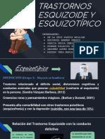 T. ESQUIZOIDE Y ESQUIZOTIPICO