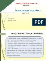 Direito Consttitucional III - ÓRGÃOS DO PODER JUDICIÁRIO- PARTE 3