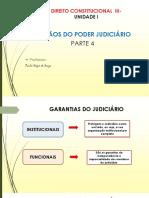 Direito Consttitucional III - ÓRGÃOS DO PODER JUDICIÁRIO- PARTE 4